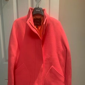 J Crew Coral Coat